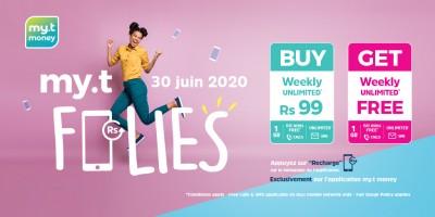 ce-mardi-30-juin-achetez-un-pack-weekly-unlimited-sur-l-rsquo-application-my-t-money-a-seulement-rs-99-et-recevez-un-deuxieme-en-cadeau