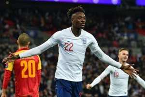 Abraham targets Euro glory after first England goal