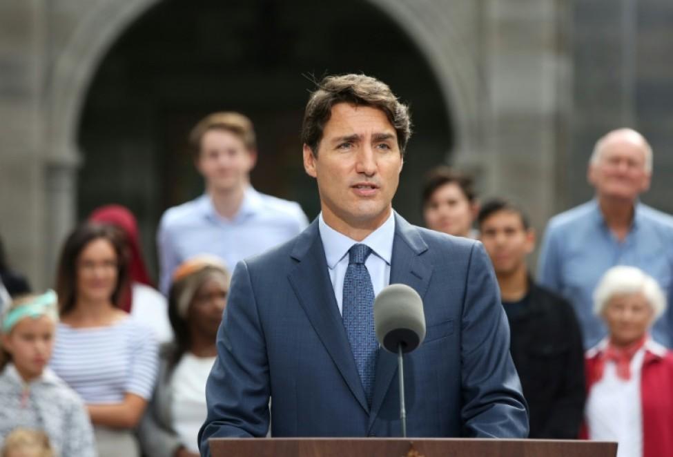 Le Premier ministre Justin Trudeau a lancé officiellement mercredi à Ottawa la campagne pour les législatives du 21 octobre