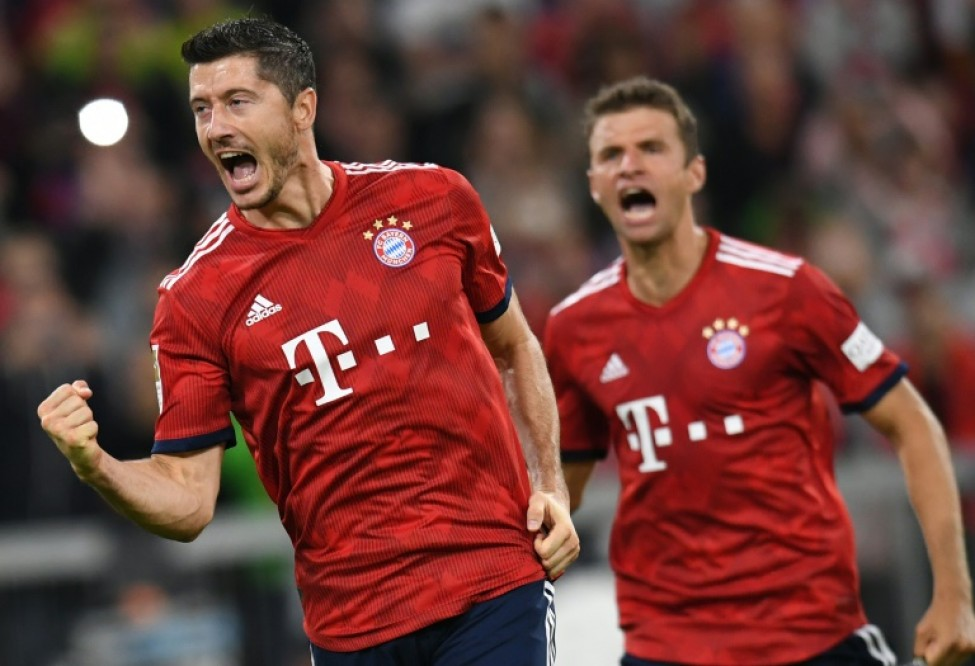 Robert Lewandowski has started the season in form after a miserable World Cup with Poland