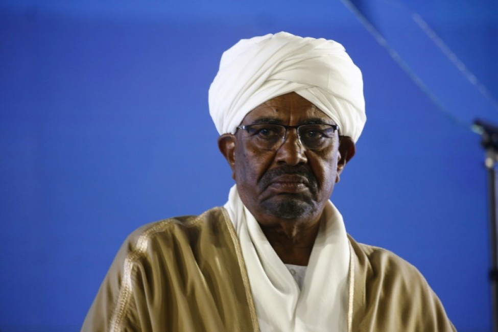 L\'ancien président soudanais, Omar el-Béchir, le 31 décembre 2018, à Khartoum.