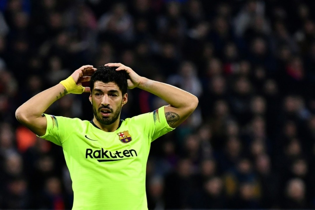Luis Suarez\'s form is a source of concern in Barcelona