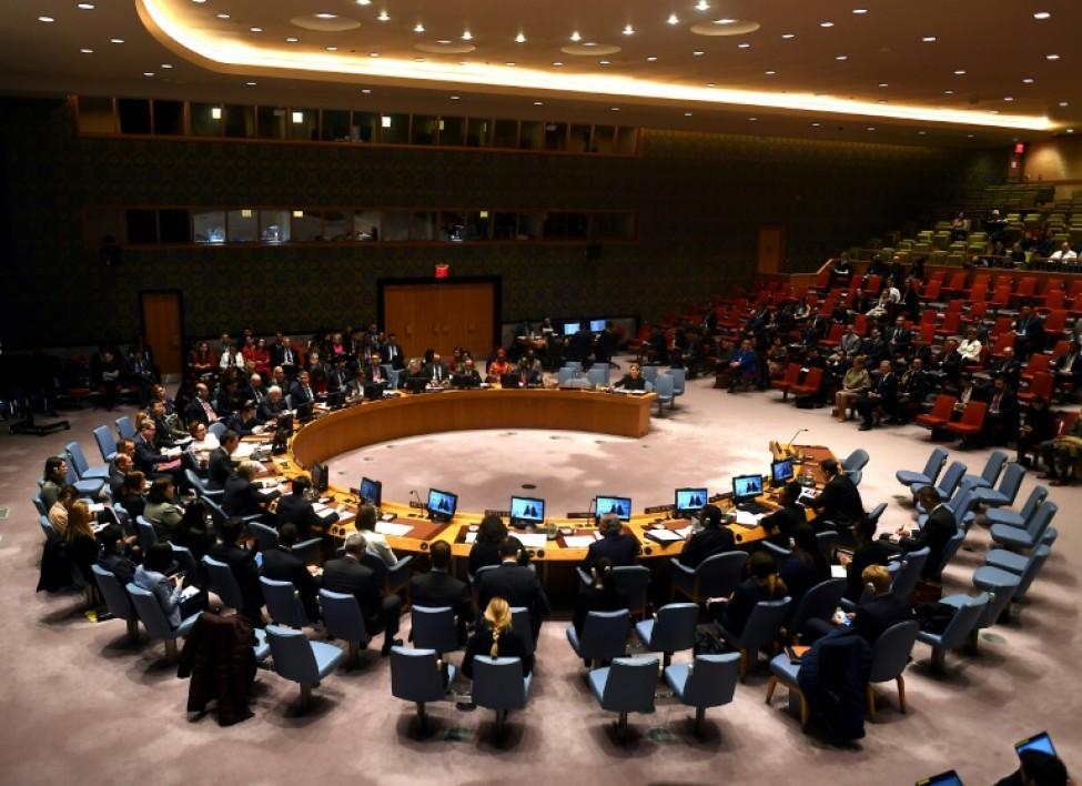 Le Conseil de sécurité de l\'ONU en réunion pour améliorer la protection des enfants pris dans des conflits, le 12 février 2020.