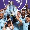 Manchester City celebrate their Premier League title triumph