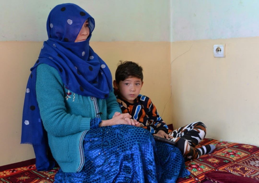They are among the more than 300,000 Afghans who have fled their homes due to violence since the beginning of this year alone