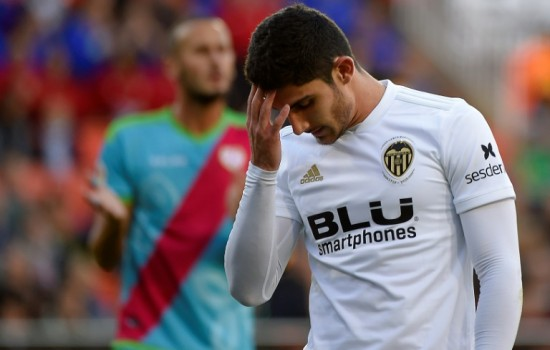 Valencia forward Guedes faces surgery and lengthy absence