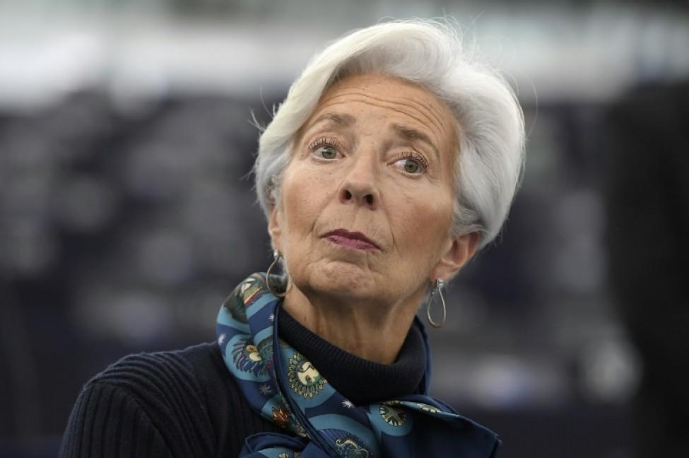 Christine Lagarde, présidente de la BCE, le 11 février 2020 à Strasbourg