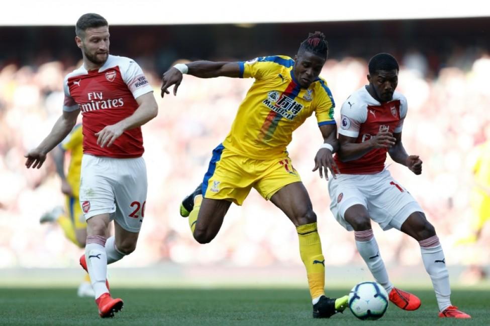 Crystal Palace\'s Wilfried Zaha punished sloppy Arsenal