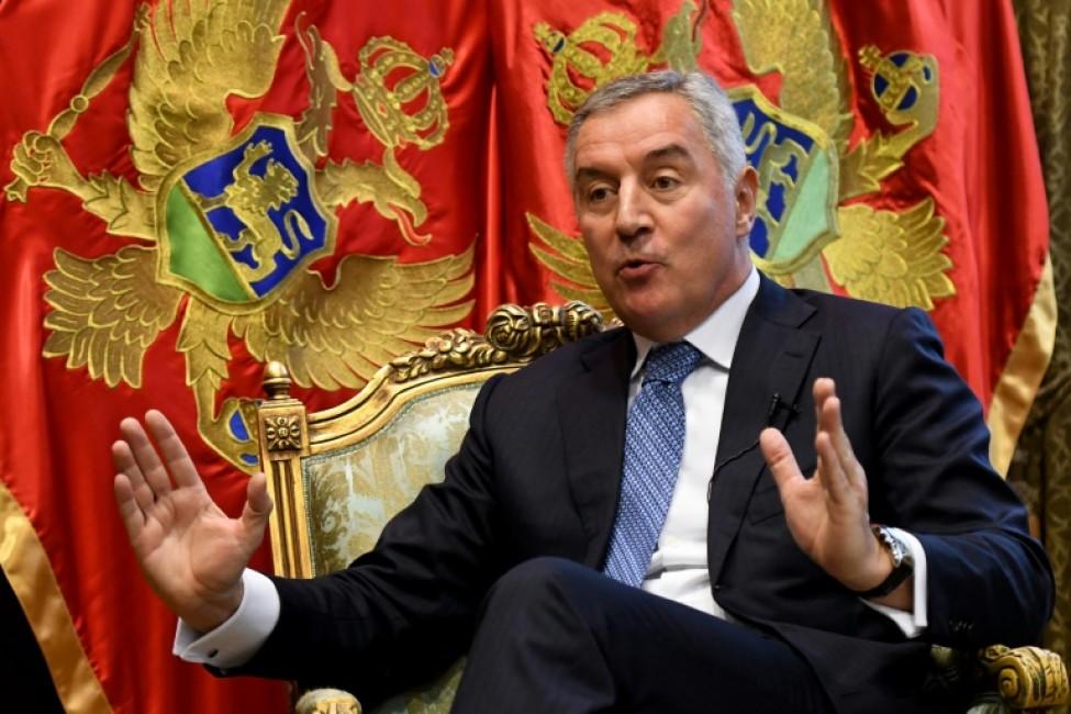 Le préside,t du Montenegro, Milo Djukanovic, le 10 février 2020