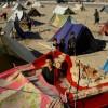 Des tentes de personnes déplacées par la sécheresse en Afghanistan, le 3 août 2018