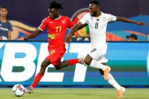 Supersub Kwabena stars as Ghana stay in Olympics race