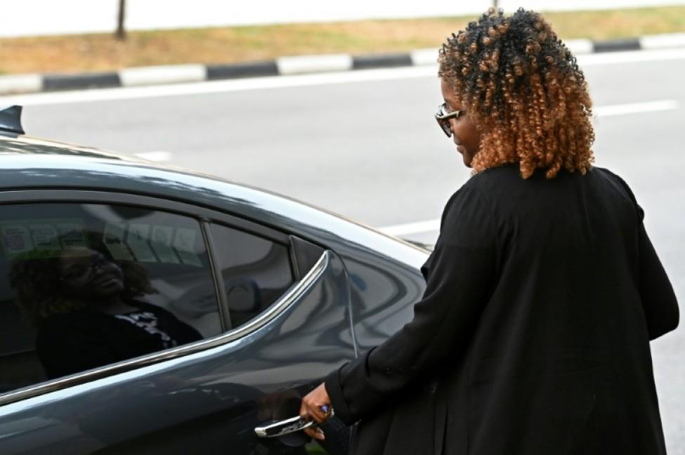 Bona Mugabe, fille de l\'ex président du Zimbabwe Robert Mugabe, s\'est rendue à Singapour pour en ramener la dépouille de son père, le 10 septembre 2019.