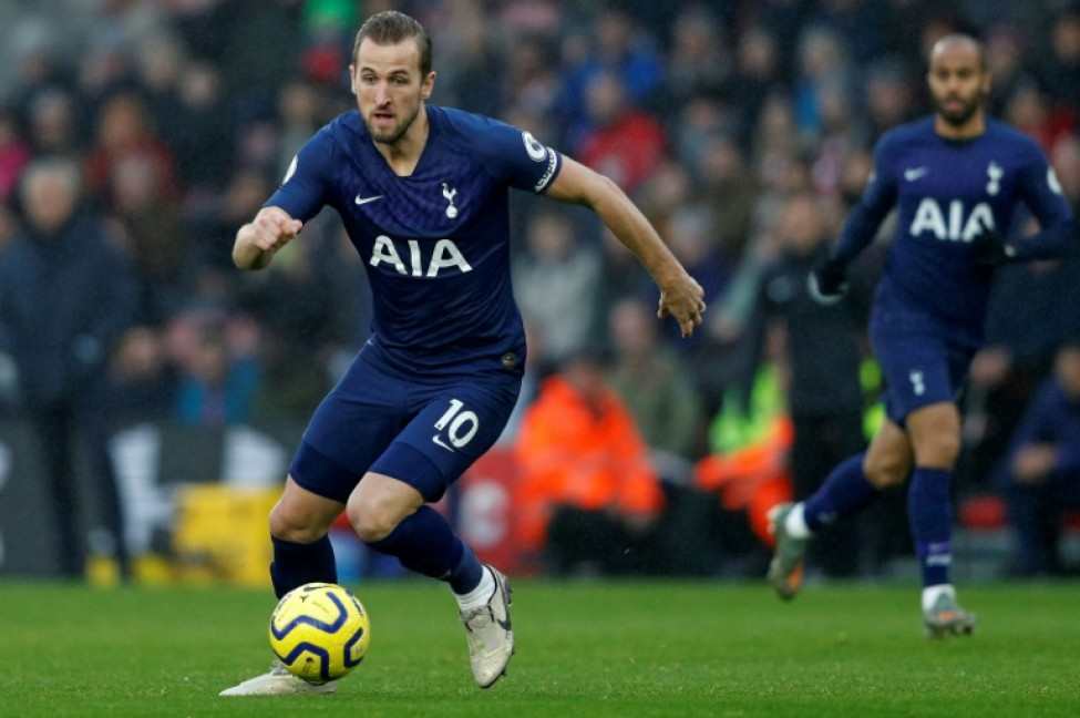 Tottenham and England star Harry Kane is sidelined with a hamstring injury