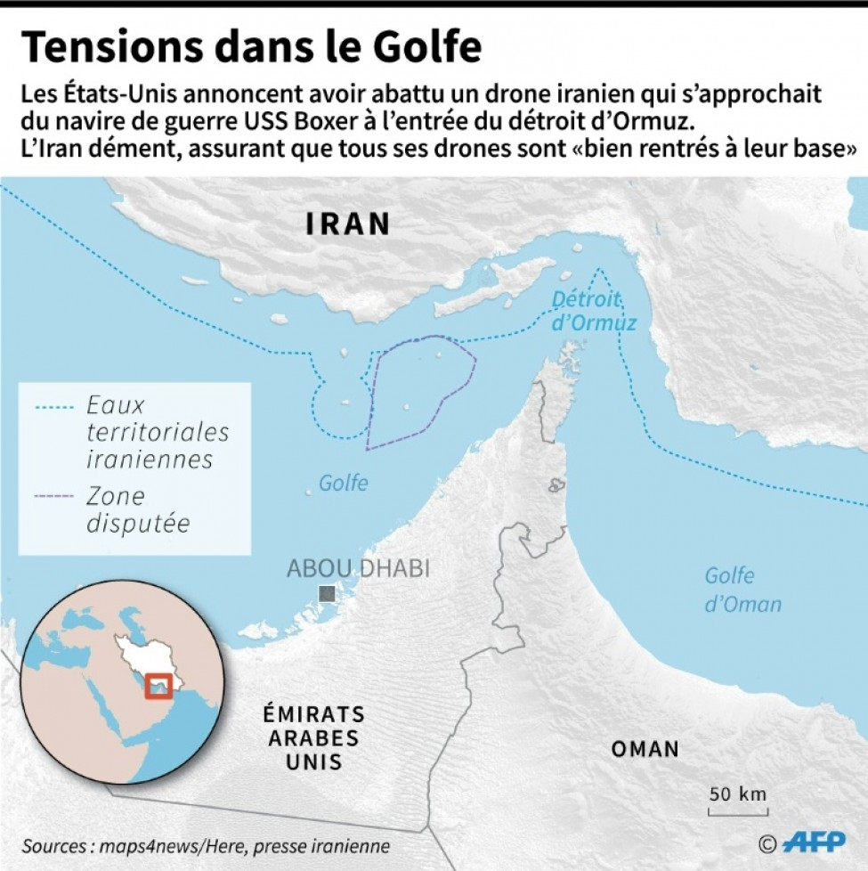 Tensions dans le Golfe