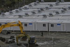 Migrations: sur l'île grecque de Samos, la colère monte contre un nouveau camp