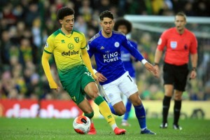 Lewis sinks Leicester to boost Norwich survival bid