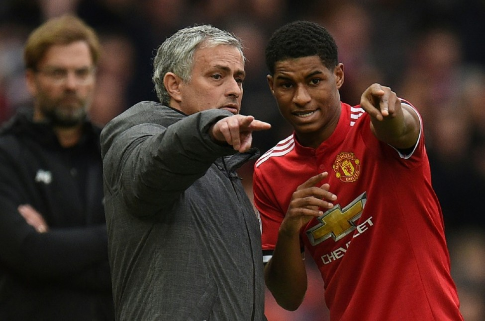 Manchester United manager Jose Mourinho launched an impassioned defence of his use of Marcus Rashford