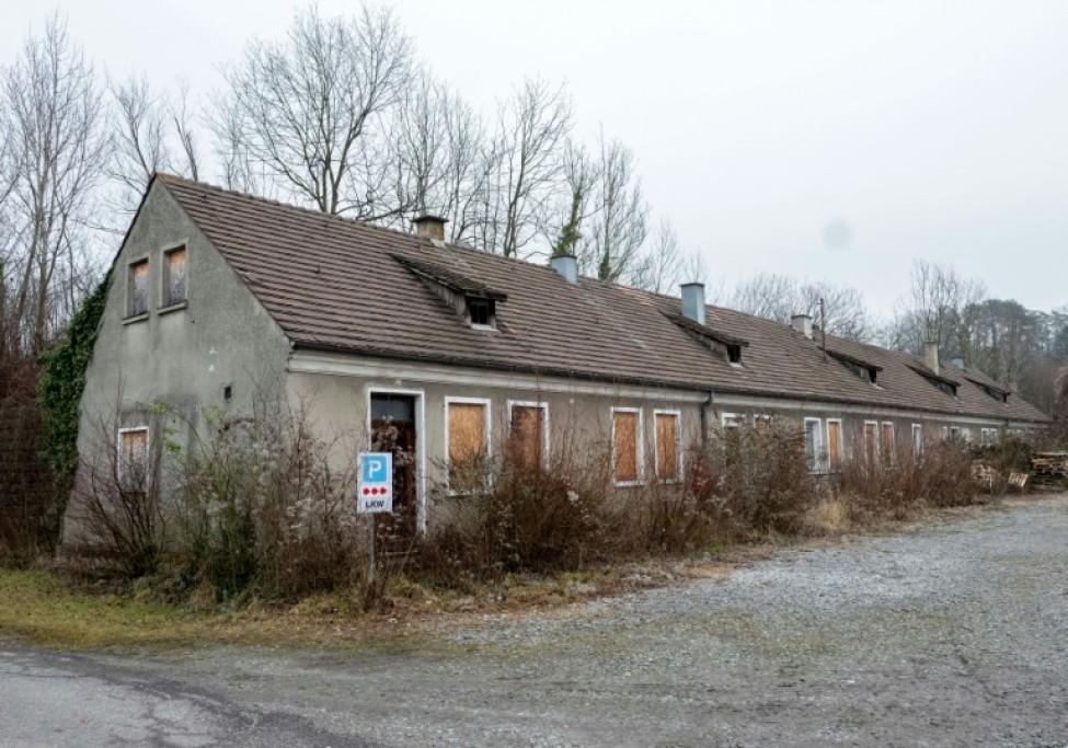 L\'ancienne maison du commandement de l\'ancien camp nazi de Gusen, le 8 janvier 2020 à Langenstein, en Autriche