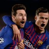 Messi scored twice as Barcelona cruised past an outclassed Man United