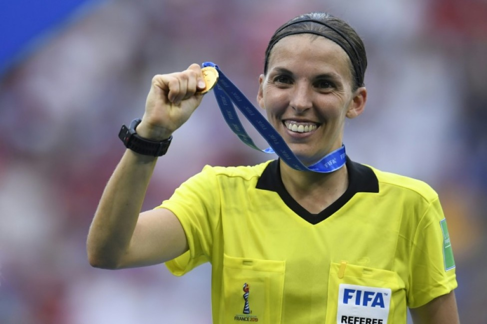 Stephanie Frappart will referee the game, fresh from taking charge of the women\'s World Cup final last month