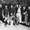Plusieurs des moines de Tibéhirine, sur une photographie non datée