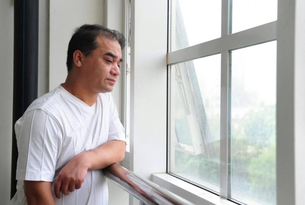 Lintellectuel et militant ouïghour Ilham Tohti, le 12 juin 2010 à Pékin
