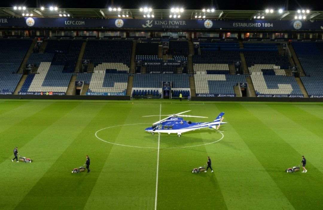 Thai businessman Vichai attended most LeicesterCity home matches, landing and taking off from the centre of the pitch