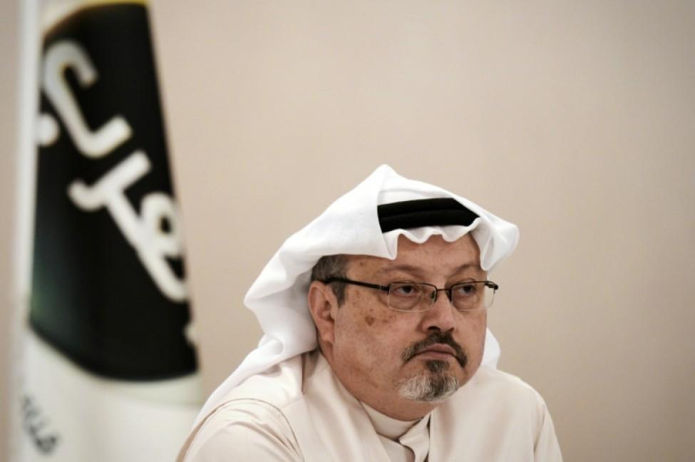 Le journaliste saoudien Jamal Khashoggi, à Manama le 15 décembre 2014