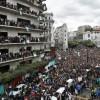 Manifestation à Alger le 8 mars 2019contre la candidature à un 5e mandat du président Abdelaziz Bouteflika