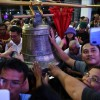 Une ville des Philippines fête le retour de cloches restituées par les Etats-Unis