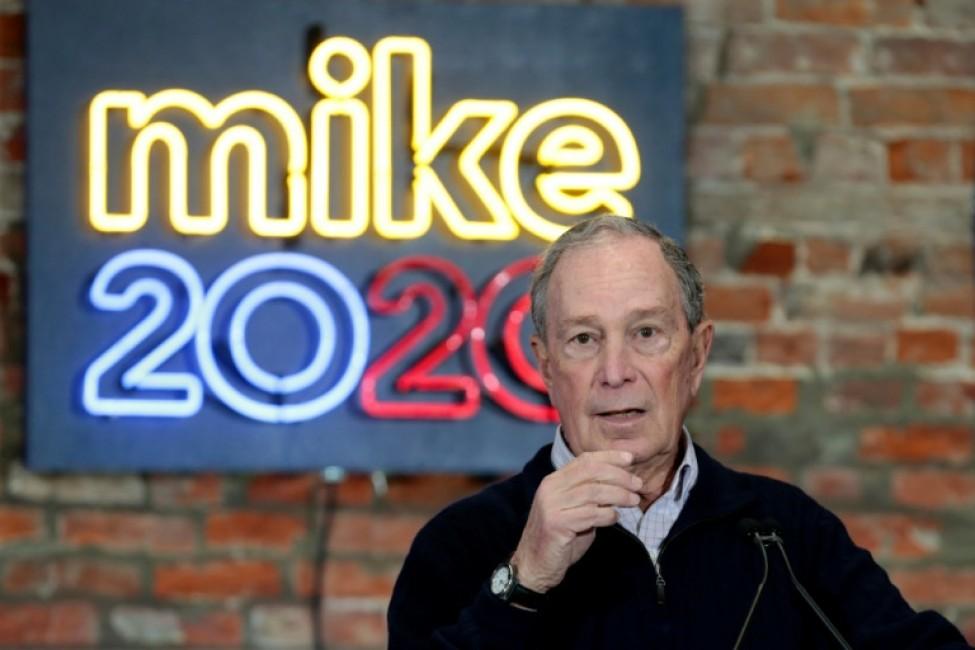 Michael Bloomberg le 21 décembre 2019 à Détroit dans le Michigan