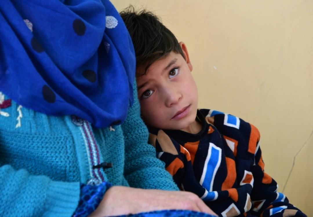 Murtaza and his family abandoned their home in southeastern Ghazni province in November