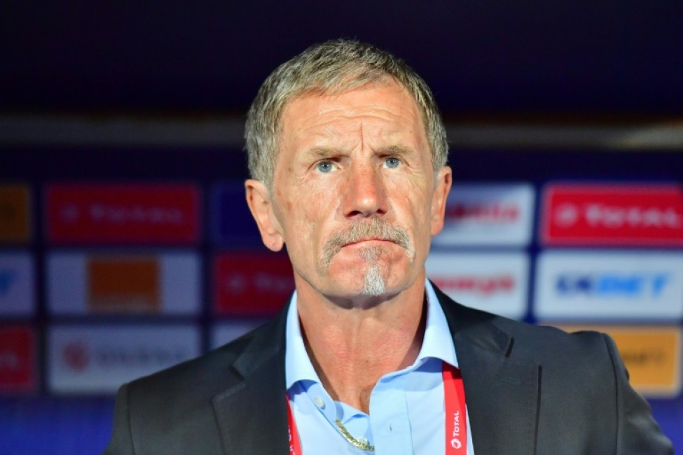 Stuart Baxter\'s South Africa were beaten by a late Nigeria goal in the quarter-finals
