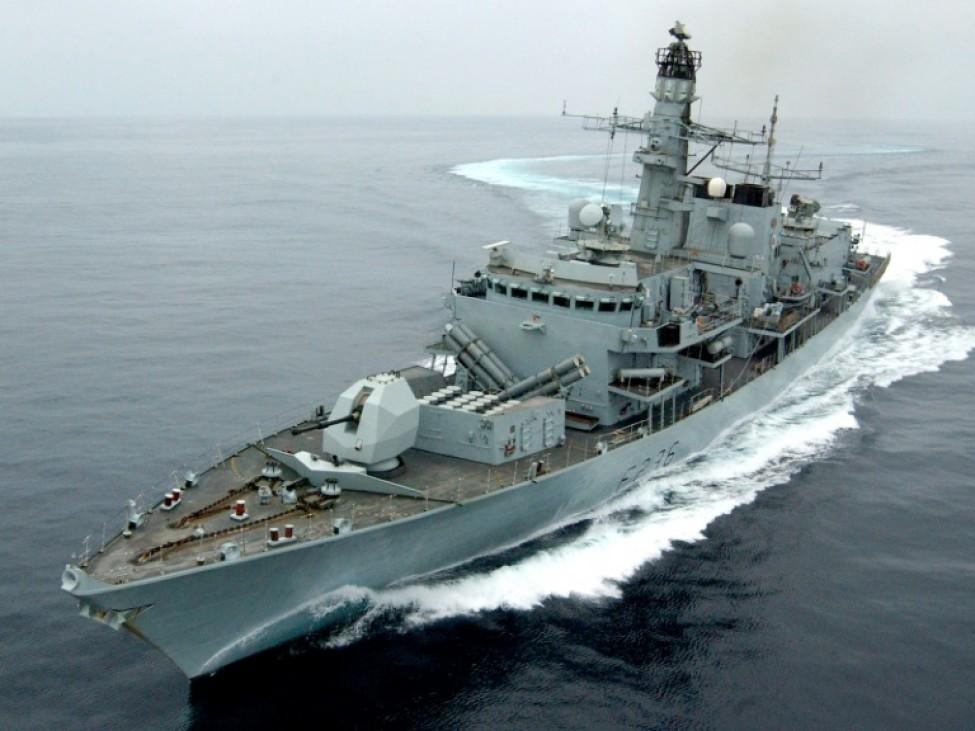 La frégate britannique HMS Montrose, photo diffusée le 11 juillet 2019