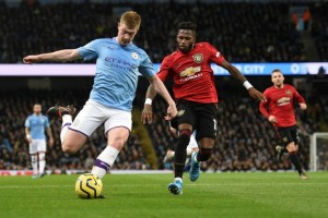 Man City condemn 'racist gesture' during Manchester derby