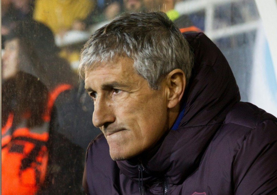 Quique Setien has overseen two tight victories in his first two games as Barcelona coach.