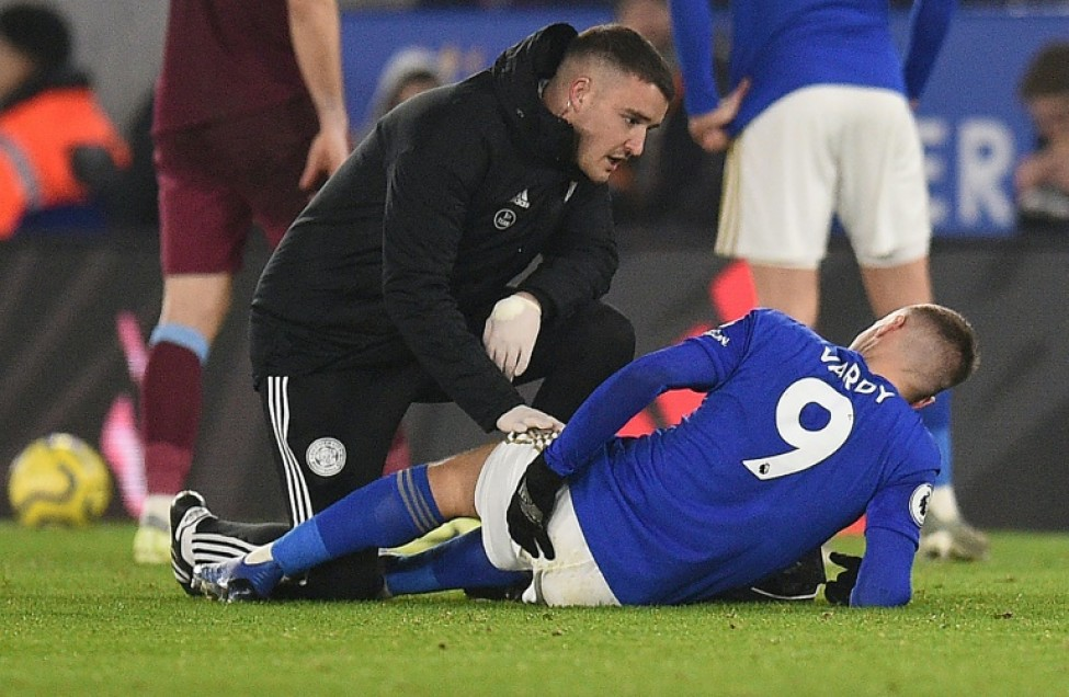 Jamie Vardy\'s injury is not as serious as first feared, according to Leicester boss Brendan Rodgers