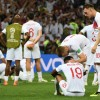 England\'s bitter disappointed players after their extra-time defeat to Croatia