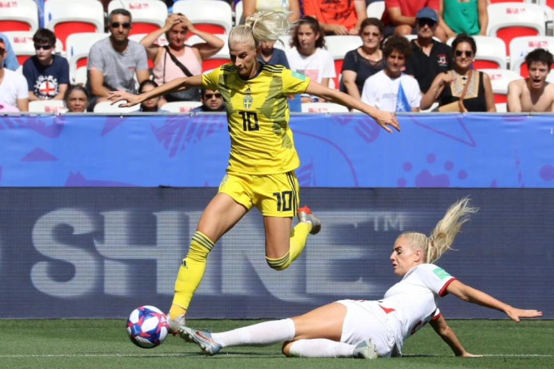 Sweden\'s Sofia Jakobsson plays for CD Tacon, the club absorbed by Real Madrid