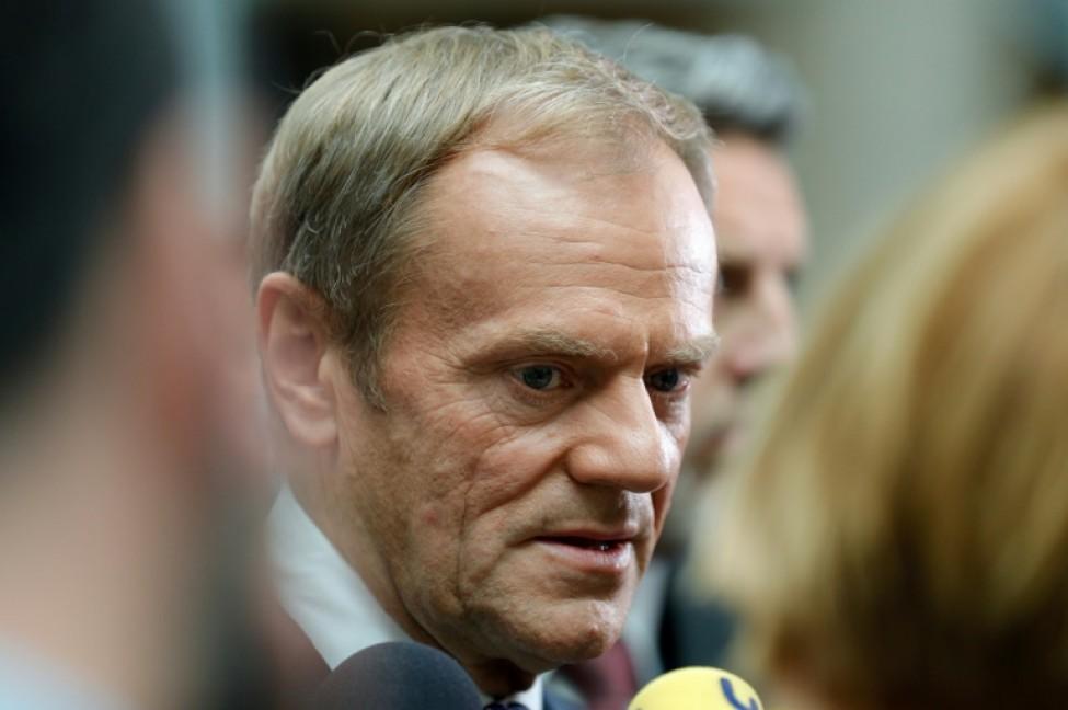 Le président du Conseil européen Donald Tusk le 2 juillet 2019 à Bruxelles
