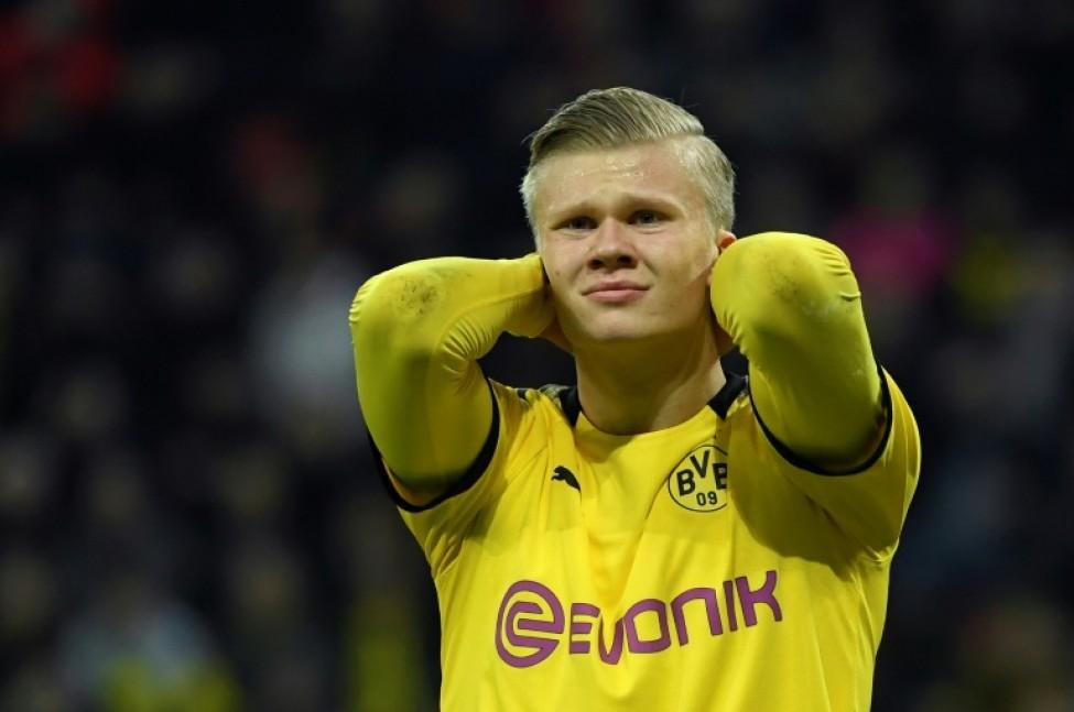 Haaland failed to score at Leverkusen last weekend