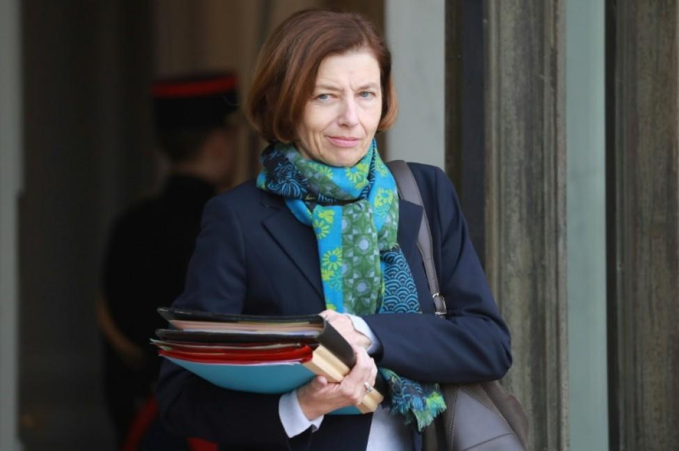 La ministre française de la Défense Florence Parly, le 29 janvier 2020 à Paris
