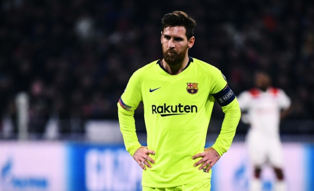 Barcelona\'s only goal in their last three games came from a Messi penalty against Valladolid last weekend