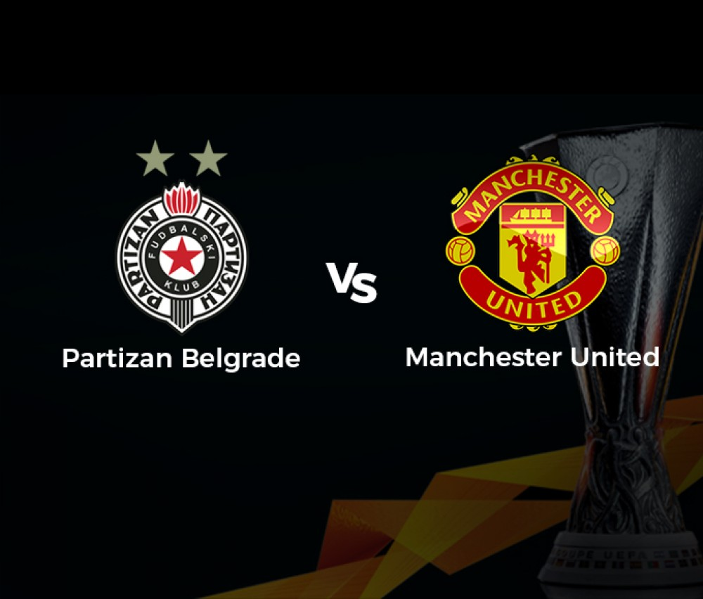 Football - Ligue Europa - Partizan Belgrade (Scg) / Manchester United (Gbr) [Live]