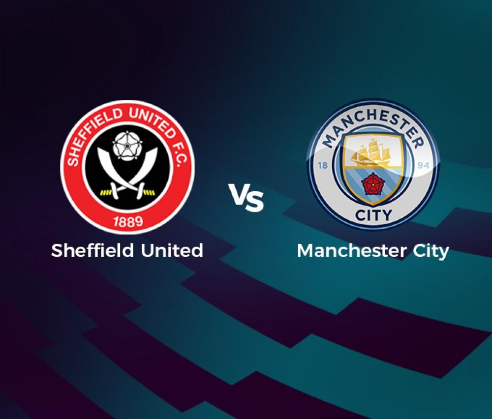 Football - Premier League - Sheffield United / Manchester City [Live]