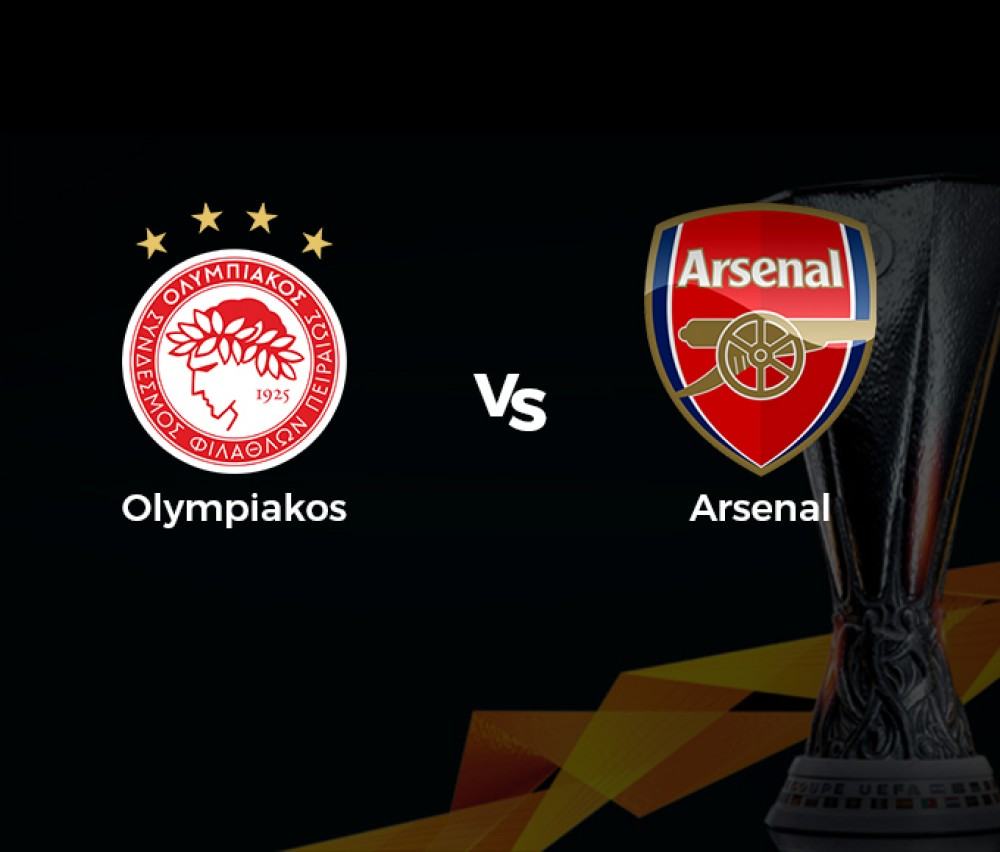 Football - Ligue Europa - Olympiakos (Grc) / Arsenal (Gbr) [Live]