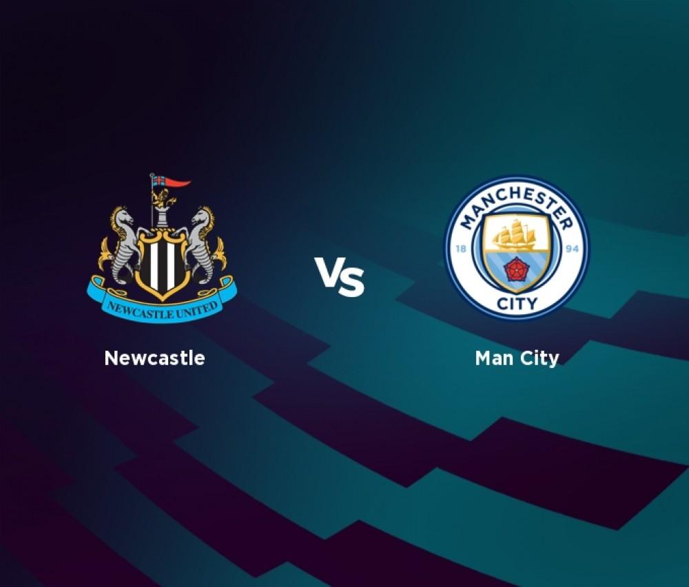 Football - Premier League - Newcastle / Man City [Live]